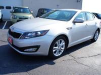 2012 Kia Optima 4dr Car LX Our Location is: Laurel Kia