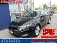 . Feast your eyes on our 2012 Kia Optima EX in Ebony