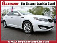 New Price! gray Leather. Clean CARFAX.Snow White Pearl