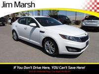 Get excited about the 2012 Kia Optima! A safe vehicle