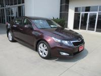 *LOW MILES* *This 2012 Kia Optima EX will sell fast