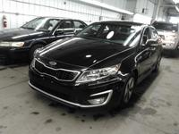 Black 2012 Kia Optima Hybrid EX FWD 6-Speed Automatic