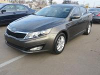 This 2012 Kia Optima is a midsize sedan available in LX
