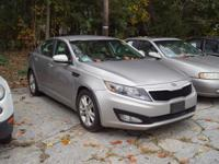 This 2012 Kia Optima LX in Satin Metal features: FWD