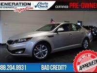 2012 Kia Optima. Power To Surprise! Silver Bullet! Are