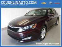 Drive around town in style in the used Kia Optima for a