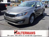 ALLOY WHEELS and TWO YEAR/100K WARRANTY. Optima LX and
