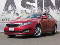 This 2012 Kia Optima 4dr LX Sedan . It is equipped with