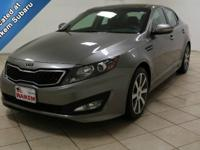This 2012 Kia Optima is fully loaded and built with the