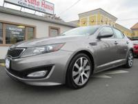 2012 Kia Optima SX Gray FWD **NEW BRAKES**, **REAR VIEW