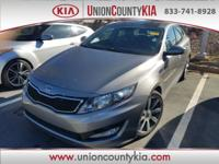 2012 Kia Optima SX Charcoal Odometer is 25474 miles