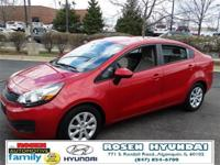 JUST ARRIVED! 2012 Kia Rio LX! LOCAL, ONE OWNER TRADE