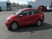 We're excited to offer this capable 2012 Kia Rio LX.