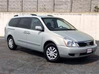 CARFAX One-Owner. Platinum Graphite 2012 Kia Sedona LX