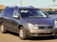 New Price! CARFAX One-Owner. Gray 2012 Kia Sedona LX