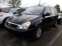 CARFAX One-Owner. Clean CARFAX. 2012 Kia Sedona LX