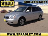 2012 Kia Sedona Van LX Our Location is: Spradley