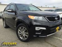 This Sorento is CERTIFIED! This 2012 Kia Sorento SX