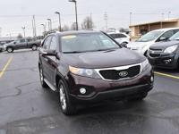 This outstanding example of a 2012 Kia Sorento EX is