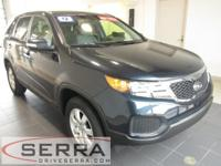 2012 KIA SORENTO FWD LX, KIA CERTIFIED, ONE OWNER,