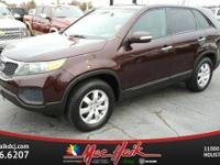 Options:  2012 Kia Sorento Lx|/|V4 2.4L Automatic|90721