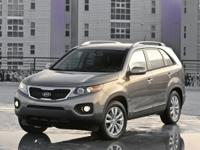 CARFAX One-Owner. Satin Metal 2012 Kia Sorento LX FWD
