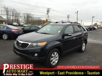 Does it all! Climb into this toy-hauling Sorento and