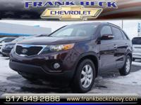 Options:  2012 Kia Sorento Lx|Lx 4Dr Suv (I4