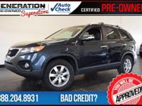 2012 Kia Sorento. Power To Surprise! Gasoline! If