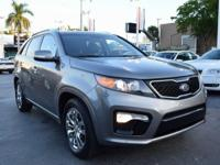 One-Owner Local Trade-in!. Sorento SX, Metal Bronze,