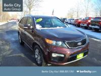 This 2012 Kia Sorento is the sx model and is all wheel