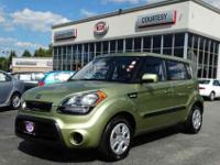 MANUAL TRANSMISSION KIA SOUL WITH ONLY 29K .1-OWNER