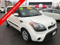 Look at this white 2012 Kia Soul, locally owned and