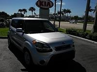 New Price! Clean CARFAX. Silver 2012 Kia Soul FWD