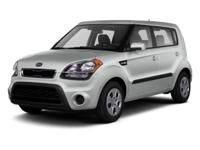Scores 30 Highway MPG and 25 City MPG! This Kia Soul