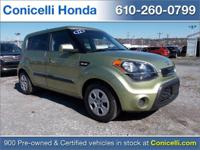 This 2012 Kia Soul Base has ONLY 46,824 miles which is