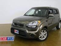 Come test drive this additional clean 2012 Kia Soul,