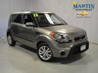 2012 Kia Soul Station Wagon + Our Location is: Martin
