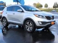Clean CARFAX. CARFAX One-Owner. This 2012 Kia Sportage