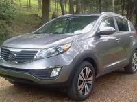 This is an excellent 2012 Kia Sportage EX Awd, 24,400