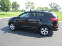 2012 Kia Sportage LX All Wheel Drive- 2.4L DOHC 4 Cyl.