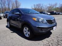 2012 Kia Sportage LX Blue New Price! Accident Free