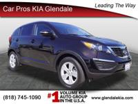 Get down the road in this extensive Sportage, and fall