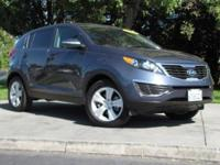 This 2012 Kia Sportage 4dr EX SUV features a 2.4L V6