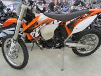 2012 KTM 200 XC-W 2012 KTM 200XCW Motorcycles Off-Road