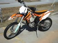 2012 KTM 250 XC-F AWESOME VALUE !!! Motorcycles