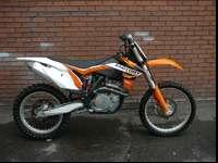 2012 KTM 450SXF. This bike just got a fresh new