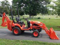 2012 Kubota BX25 Diesel Tractor, 22 Original Hours, 23