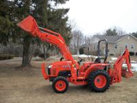 Price reduced $4,890. Here's my 2012 Kubota L3800 4WD