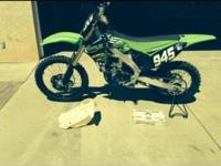 This is very clean 2012 Kawasaki KX250f with an Athena